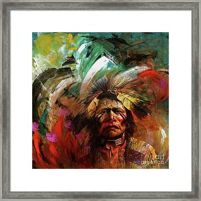 Red Indians 02 Framed Print