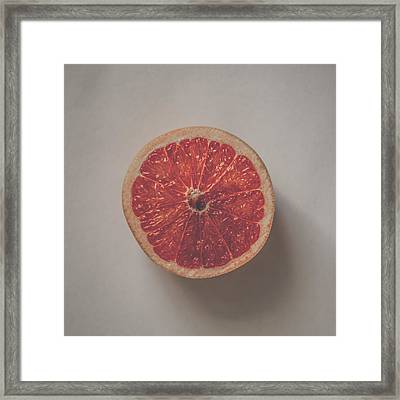 Red Inside Framed Print by Kate Morton