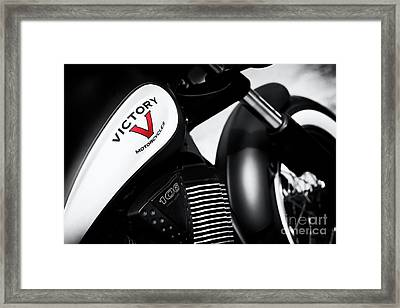 Red Is For Victory Framed Print