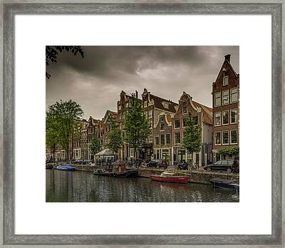 Red Light District  Framed Print by Capt Gerry Hare