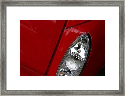 Red Light For Go Framed Print by Jez C Self