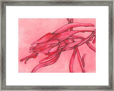 Red Lust Framed Print