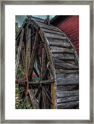 Red Mill Wheel 2007 Framed Print