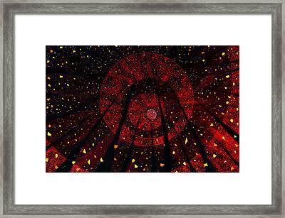 Red October Framed Print