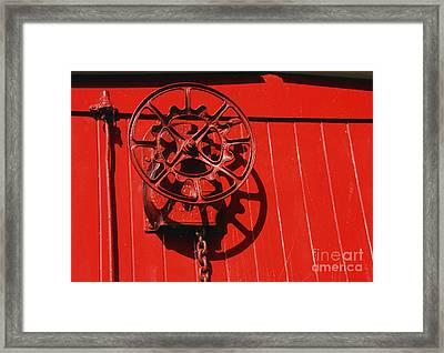 Red On Red Framed Print