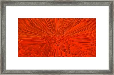 Red-palace Framed Print