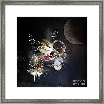 Red Passion Framed Print by Monique Hierck
