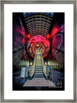 Red Planet Framed Print by Adrian Evans