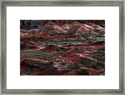 Red Planet Framed Print by Murray Bloom
