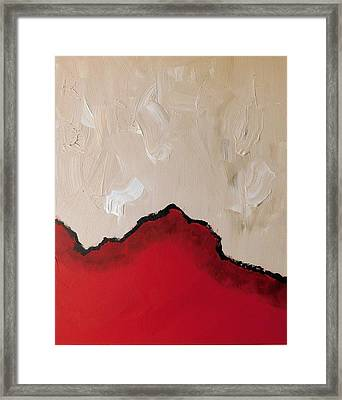 Red Planet Framed Print by Susan Wooler