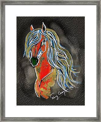 Red Pony  Framed Print