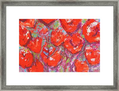 Red Poppies Framed Print by Gallery Messina