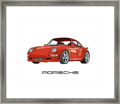 1997  Porsche 993 Twin Turbo R Framed Print