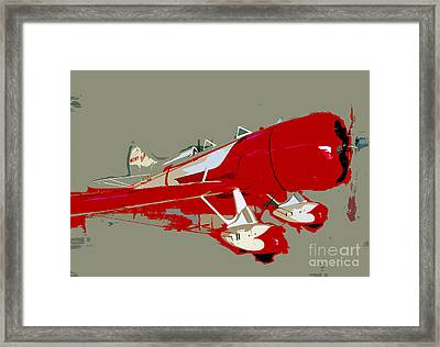 Red Racer Framed Print by David Lee Thompson