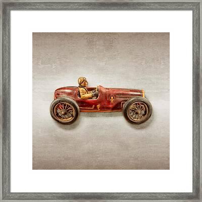 Red Racer Right Framed Print