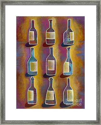 Red Red Wine Framed Print by Carla Bank