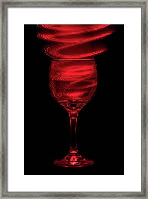 Red Red Wine Framed Print by Marnie Patchett