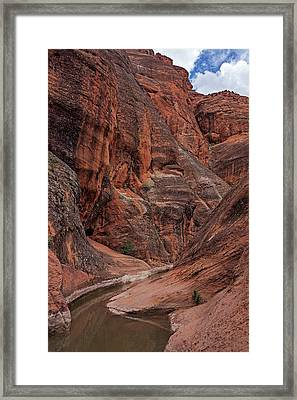 Red Reef Slot Canyon Framed Print
