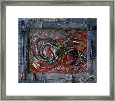 Red Rider Framed Print