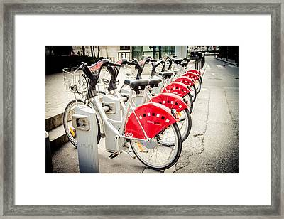 Framed Print featuring the photograph Red Rider by Jason Smith