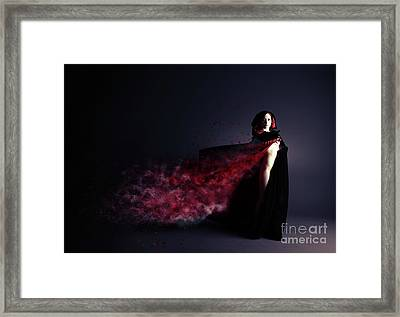 Red Riding Hood Framed Print by Nichola Denny