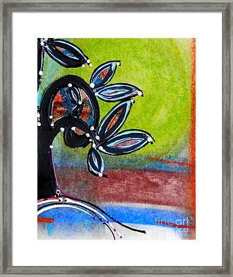 Red River Blossoms Framed Print