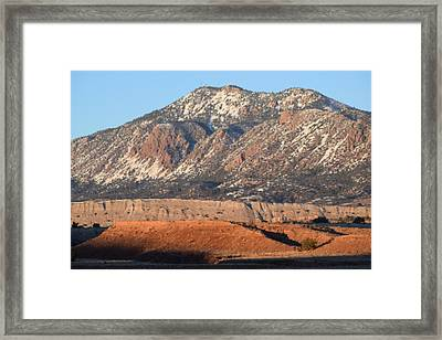 Red Rock Along 550 Framed Print by Curtis Willis