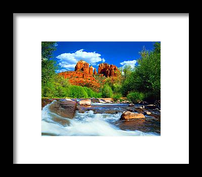 Cathedral Rock Framed Prints