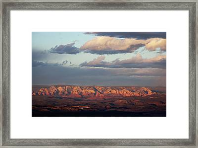 Framed Print featuring the photograph Red Rock Crossing, Sedona by Ron Chilston