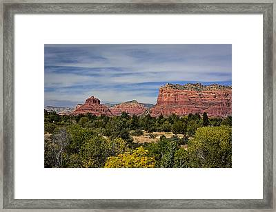 Red Rock Scenic Drive Framed Print