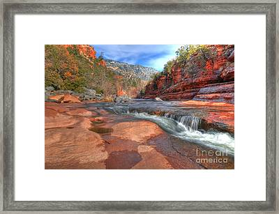 Red Rock Sedona Framed Print by Kelly Wade