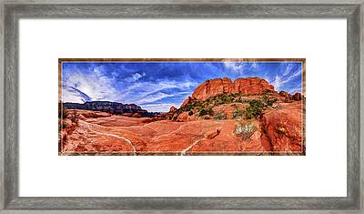 Red Rock Spirit 2 Framed Print by ABeautifulSky Photography
