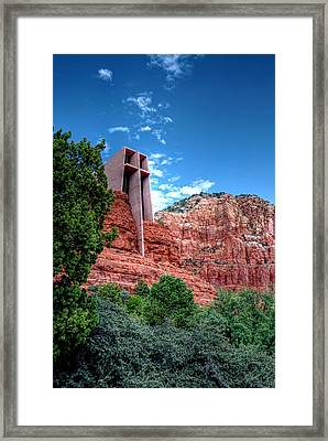 Red Rock Spirituality Framed Print
