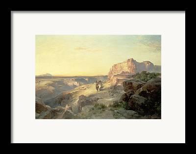 Western Riding Framed Prints