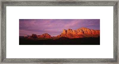 Red Rocks Country, Arizona, Usa Framed Print