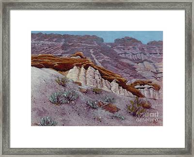 Red Rocks - High Noon Framed Print