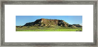 Red Roof Butte Framed Print by Todd Klassy
