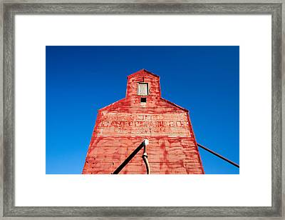 Red Roof Framed Print by Todd Klassy