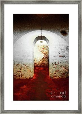 Red Room Framed Print by Svetlana Sewell