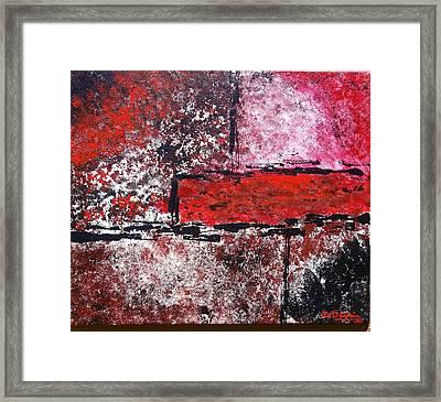 Red Rum Framed Print by Denise Deskin