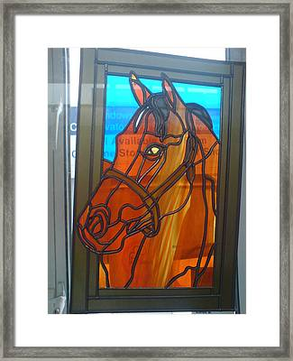 Red Rum Framed Print