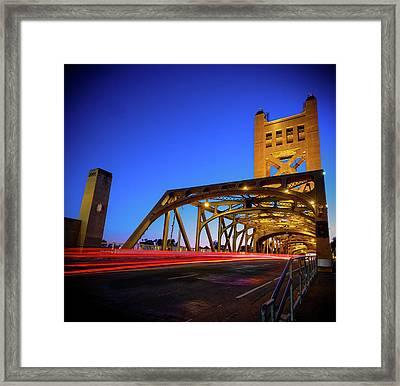 Red Runner- Framed Print