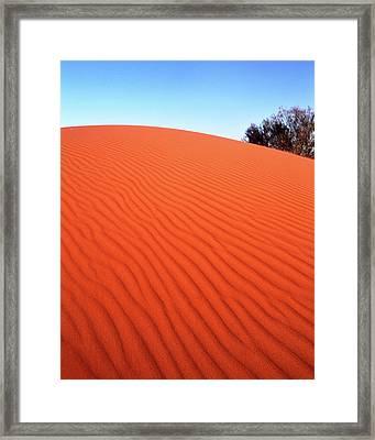 Red Sand Framed Print