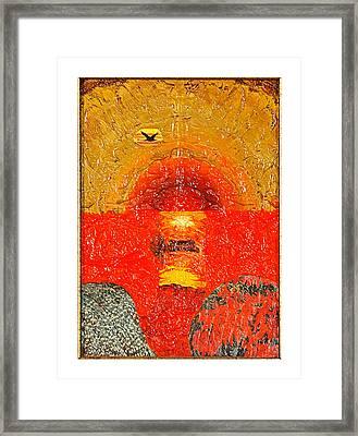 Red Sea Framed Print by Howard Goldberg