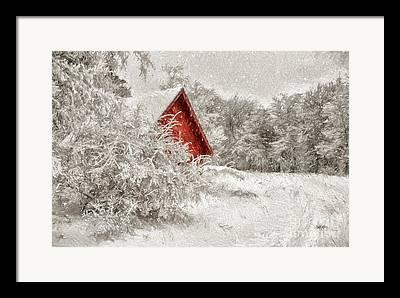 Pa Digital Art Framed Prints