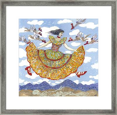 Red Shoes 1 Framed Print