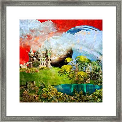 Red Sky Dreams Framed Print