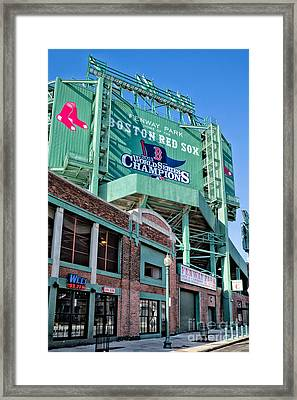 Red Sox 2013 Champions Framed Print