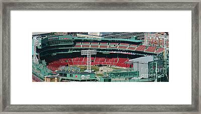 Red Sox - Fenway Park  Framed Print
