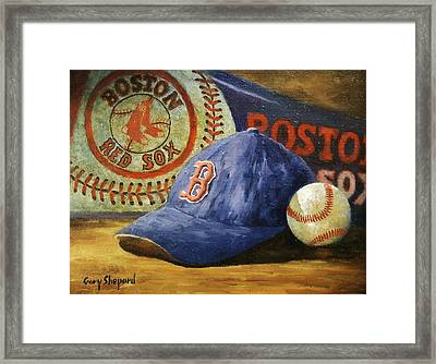 Red Sox Nation Framed Print by Gary Shepard